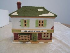 Dept 56 - Marley and Scrooge Counting House Heritage Village