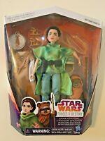 NEW Star Wars Forces Of Destiny Endor Adventure Princess Leia & Ewok Disney
