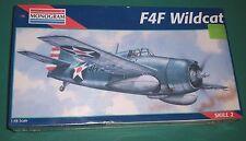 Factory Sealed 1:48 Revell-Monogram Grumman F4F Wildcat Model Kit #5220 Skill 2