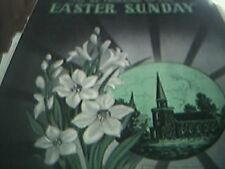 sheet music I'll be thinking of you easter Sunday buck ram
