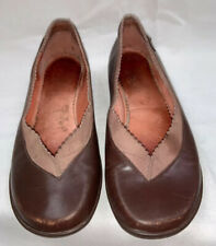 CAMPER Brown Leather Slip On Loafers Size 36/ 6 M