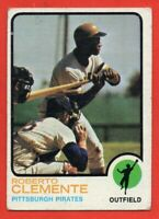 1973 Topps #50 Roberto Clemente VG-VGEX WRINKLE Pittsburgh Pirates HOF FREE S/H