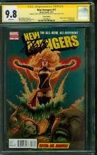 New Avengers 17 CGC 9.8 2XSS Stan Lee X Men 101 Homage Ms Marvel Variant Movie