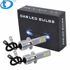 Super Bright H1 LED Fog Light Bulbs Driving Lamp 35W 4000LM 6000K White CA