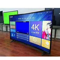 "Skang HD 32"" Curved LED TV HDTV 4G ROM Flat-Panel USB HDMI 1080P Home Hotel TOP"
