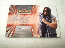 TNA Wrestling Autograph Card Abyss A19 2010