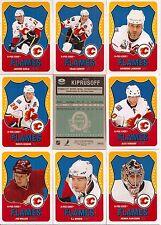 2010-11 OPC O-Pee-Chee Retro Calgary Flames Complete Team Set (19)