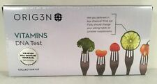 Orig3n Vitamins DNA Test Collection Kit Sealed CLIA Certified
