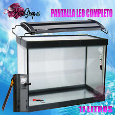 ACUARIOS DE CRISTAL CON LUZ LED ACUARIOS Y PECERAS ACUARIO PECERA COMPLETA LED