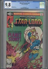 Marvel Premiere #61 CGC 9.8: Guardians of the Galaxy 1981: PGX 9.9 RE-GRADED CGC