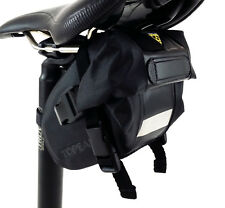 Topeak Wedge Drybag Bicycle Saddle/Seat Bag with Strap Mount, Small