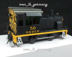 Accucraft AMS AM55-033 D&RGW Diesel Switcher #50, Messingmodell 1:48 On30 ~ H0