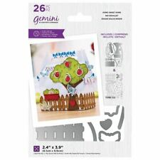Crafter's Companion Gemini - Paper Craft Stamp & Die Set - Home Sweet home