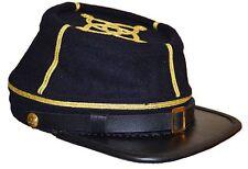 American Civil War Confederate Captain Blue Kepi Cap Hat Medium 56/57cms