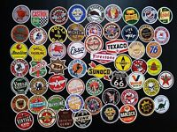 Lot of 55 Gas Station Vintage Stickers Decal Street Rod Drag Car Racing