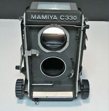 MAMIYA C330 PROFESSIONAL TLR FILM CAMERA BODY ONLY PLEASE SEE PICTURES!!!!!!!!!!