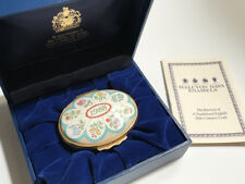 Halcyon Days Enamel Box 1988 A Year to Remember / Box & Certif / Mint Cond