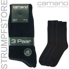15 X Par Camano Comfort ca-algodón CALCETINES DE VESTIR TALLA 39-42 negro / ART.