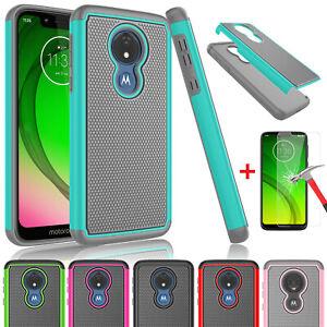Motorola Moto G7 Power/Plus/Play/Supra/Optimo Maxx Case Cover + Screen Protector
