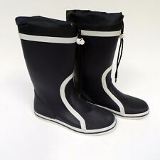 Waveline Navy/White Adult Sailing Boots Size Euro 41/UK 7 - Boating KR3