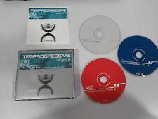 TEMPROGRESSIVE VOLUMEN 2 DJ NEIL - 3 X CD 2000 TEMPO SPANISH EDITION FAT BOX
