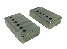Aged Humbucker Cover Nickel Copperless Plating 50mm Spacing Fits To Les Paul ®