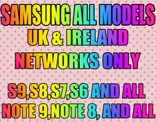 Samsung Galaxy Note 9 S9 And All Other Models Unlock Code All UK&Ireland Network