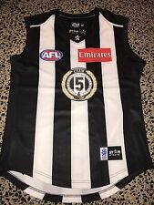 ## OFFICIAL AFL COLLINGWOOD MAGPIES CLUB 5 MEMBER ONLY GUERNSEY! SWAN BUCKLEY###