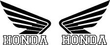 HONDA motorcycle wing vinyl decal sticker  LEFT and RIGHT