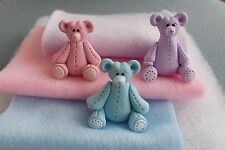 """HANDMADE BABY DOLL ACCESORIES - FITS 2 1/2""""-4"""" DOLL - BLUE, PURPLE,PINK, YELLOW"""
