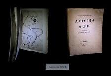[CURIOSA – EROTISME] RONSARD - Amours de Marie, ill. WAROQUIER. 1/650.