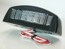 Semi-Sealed Truck, Bus & Trailer Number Plate Light (Clear 12v Bulb included)