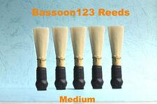 * 5 Bassoon123 Bassoon Reeds. NEW. Standard. Medium