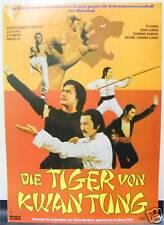 DIE TIGER VON KWAN TUNG SHAW BROTHERS WERBEHEFT 1980