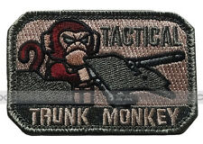 MilSpec Tactical Trunk Monkey ACU Tactical ISAF USA Military Army Badge Patch