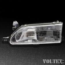 1994-1997 Toyota Corolla Headlight Lamp Clear lens Halogen Driver Left Side