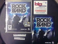 ROCK BAND PS3 PLAYSTATION 3 PAL COMPLETO USATO
