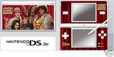 Nintendo DS or DS Lite HIGH SCHOOL MUSICAL Sticker U.K.