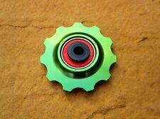 MT ZOOM GREEN Ceramic Bearing 11T Deraileur Jockey Wheel x1 Hope Green match