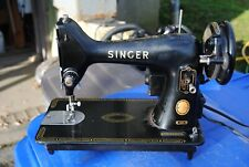 Vintage Singer 99K Made in Great Britain Sewing Machine With Accessories Look!!