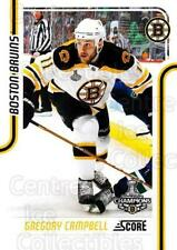 2011-12 Score Glossy #54 Gregory Campbell