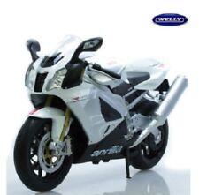 Motos et quads miniatures blancs 1:10