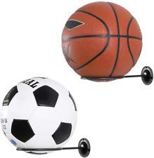Clispeed Wall-Mounted Ball Holders Display Racks for Basketball Soccer Football