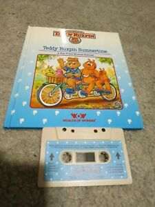 Teddy Ruxpin - Teddy Ruxpin Summertime - Book and Tape