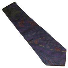 Polo Ralph Lauren Purple Label Mens Green Red Paisley Silk Tie Italy
