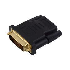 ADAPTATEUR RACCORD HDMI FEMELLE / DVI MALE LCD ECRAN VIDEO TV PC PLASMA 3D 24+1
