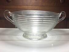 "Anchor Hocking depression glass ""Manhattan""serving bowl"