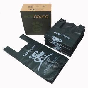 Dog Poo Bags 500 Large Premium Biodegradable Ecohound Dog Poop Waste Bags