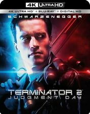 Terminator 2 Judgment Day 4k/Blu-Ray/Digital Combo Pack Slip Cover Included NEW