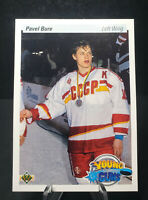 Pavel Bure #526 - 1990-91 Upper Deck Hockey - Young Guns Rookie Card